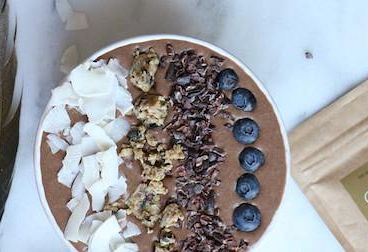 Cacao Magic Cauliflower Smoothie Bowl