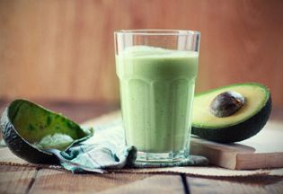 Creamy Avocado Chocolate Midday Shake