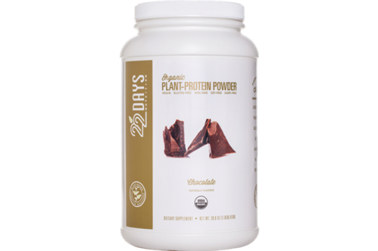 22 Days Nutrition Plant Protein Powder Chocolate product front