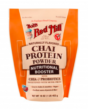 Bob's Red Mill Chai Protein Powder Nutritional Booster product front