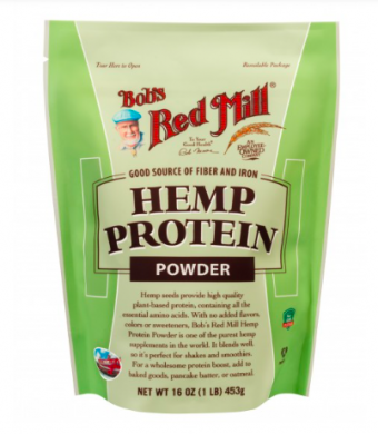 Bob's Red Mill Hemp Protein Powder product front