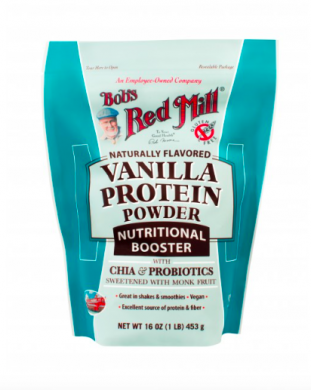 Bob's Red Mill Vanilla Protein Powder Nutritional Booster product front