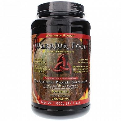 Health Force Warrior Food Vanilla product front