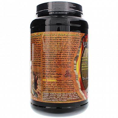 Health Force Warrior Food Vanilla product back 2
