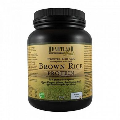 Heartland Gold Brown Rice Protein Vanilla product front