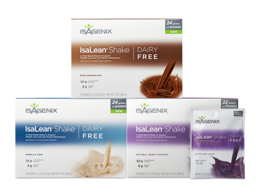 Isagenix Isalean Shake Natural Vanilla Chai Dairy Free product front