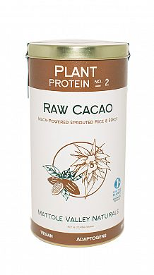 Mattole Valley Naturals Raw Cacao Vegan Protein product front