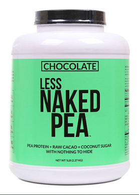 Naked Chocolate Pea Protein Powder product front