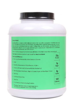 Naked Chocolate Pea Protein Powder product back