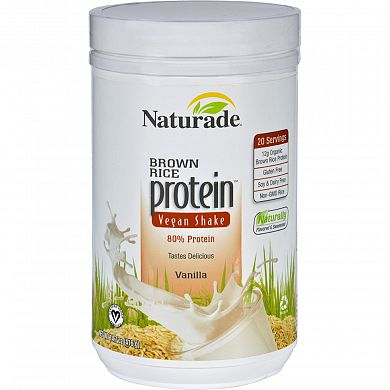 Naturade Brown Rice Protein Vanilla product front