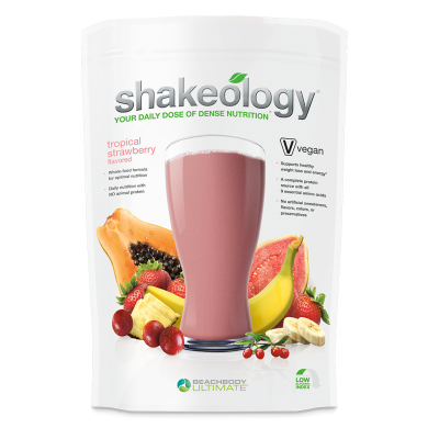 Shakeology Vegan Tropical Strawberry product front