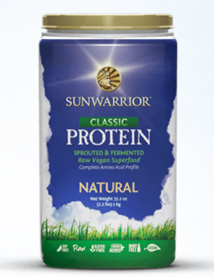 SunWarrior Classic Protein Natural product front