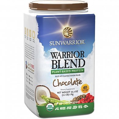 SunWarrior Warrior Blend Chocolate product front