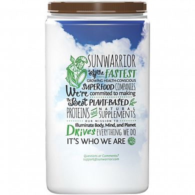 SunWarrior Warrior Blend Chocolate product back 2